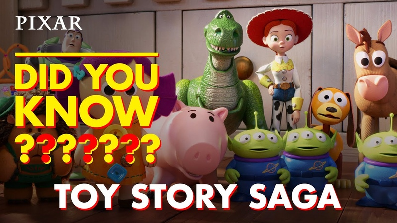 Toy Story Saga Fun Facts | Pixar Did You Know