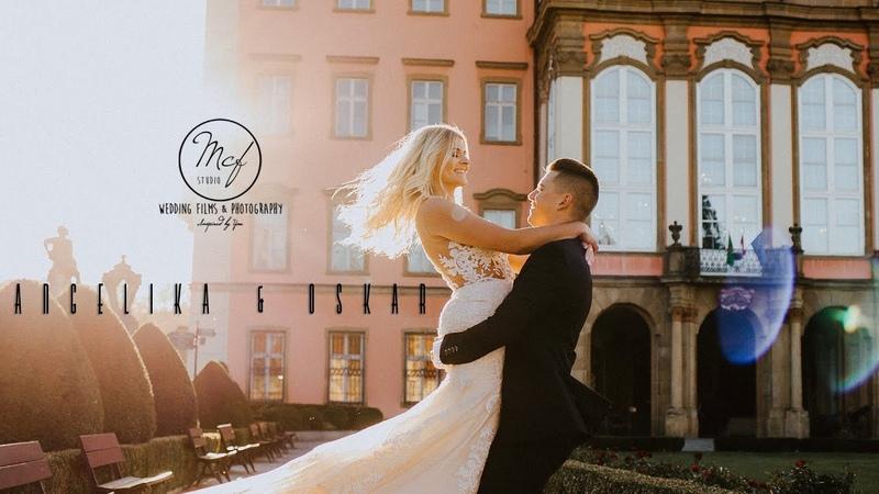 Angelika Oskar Klip Ślubny Wedding Klip Zamek Książ Wałbrzych