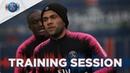 Les 15 premières minutes de l'entraînement au centre Ooredoo 📍 PSGLive