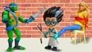 Черепашки Ниндзя в видео онлайн - Кто поможет кукле Барби - Злодей Ромео и новые игры для мальчиков