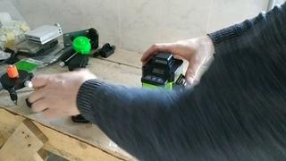 Быстрый обзор лазерного уровня 4D из Китая
