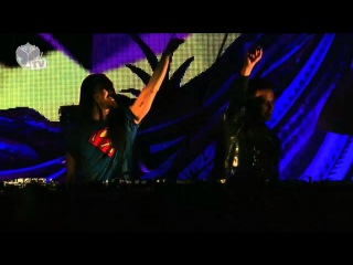 Batman, Superman & Spiderman : TomorrowWorld 2013 [HD] Live Set
