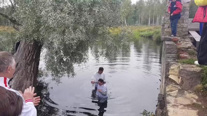Гатчина Зверинец Крещение евангелистов
