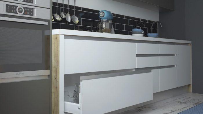Мебель без ручек — какой вариант выбрать?, изображение №4