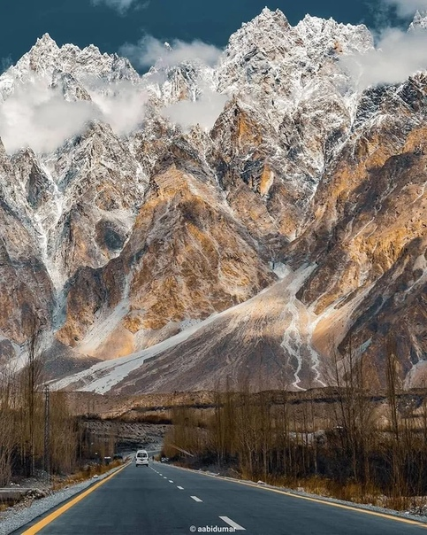 Каракорумское шоссе, Пакистан