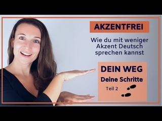 #2 AKZENTFREI DEUTSCH SPRECHEN - Aussprache verbessern - Deutsch Aussprache Übungen