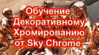 Отчет обучения Sky Chrome technologyо и что скрыто от глаз -   смотреть и слушать внимательно