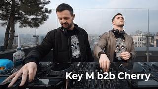 Key M b2b Cherry - Live @ Radio Intense Ukraine  [Progressive House/Melodic Techno DJ Mix]