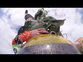 Friday Freakout: Partially Inflated Paracommander Parachute, Hard Landing