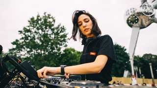 Amelie Lens at Atomium in Brussels, Belgium for Cercle