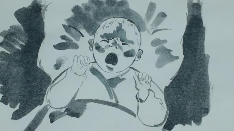 SUMI-E The milk (animatic)