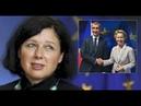 MaP 268 Brusel jmenoval Nejvyššího Cenzora! Je to Věra Jourová. Velké změny, je třeba voličům tajit!