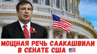 ✅ Шикарное выступление Саакашвили в Сенате США покорило весь МИР!