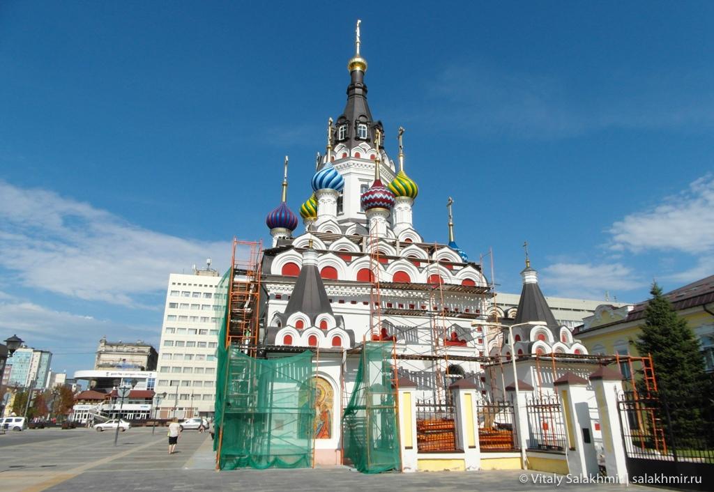 Храм Утоли моя печали, Саратов 2020, обзор города