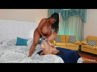 Lesbian, Big Ass, BBW, Ebony, Dildo, Sex Toys, Strap-on, 1080p