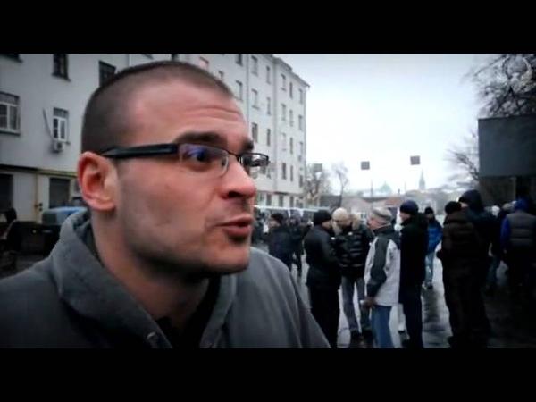 Культурные похождения Тесака по Болотной площади