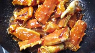 Камчатский Краб в тайском соусе!