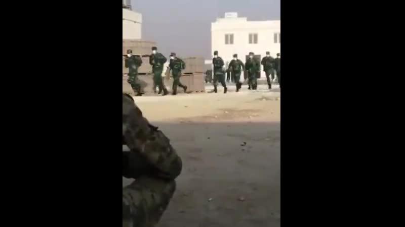 Syrische FSA Terroristen Söldner trainieren in Trainings Camps in der Türkei um für Azerbaijan gg Armenien zu kämpfen