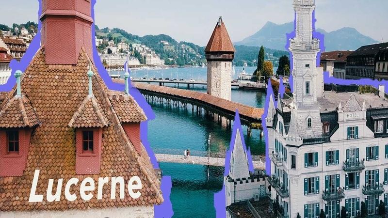 Lucerne in 4K Beautiful Switzerland
