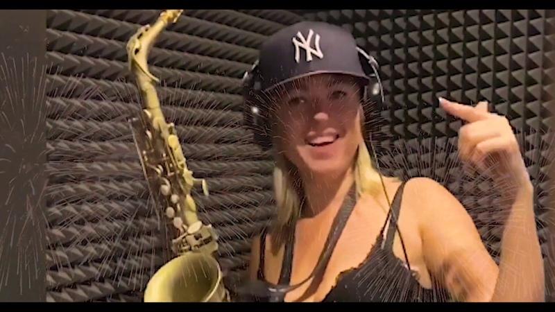 CARNIVAL SAX Анастасия Высоцкая LADYNSAX feat Tomek Chojnowski guitar