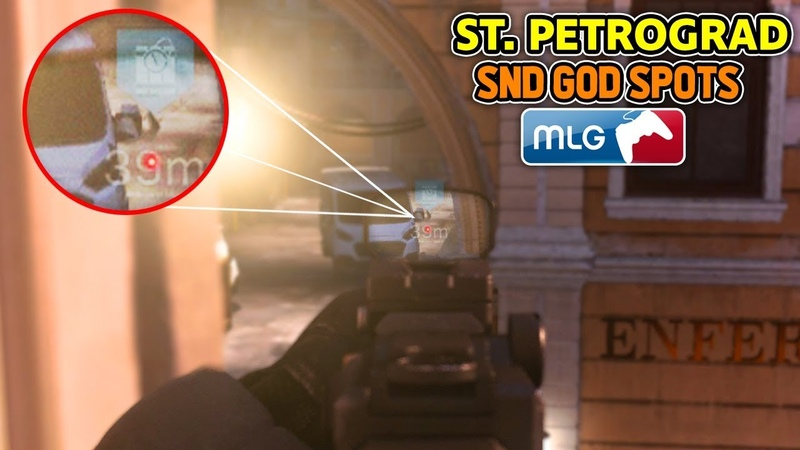 SnD GOD SPOTS on ST PETROGRAD! (COD MW Best Competitive SnD Plant Spots) Call of Duty Modern Warfare