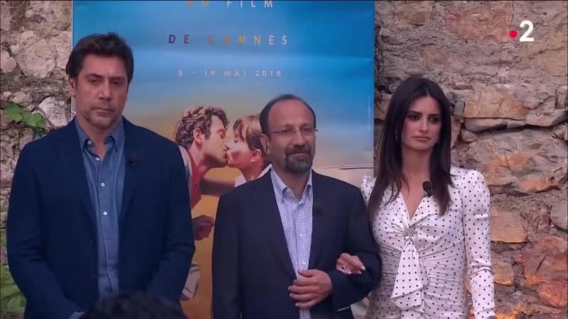 Penelope Cruz Javier Bardem Asghar Farhadi On n'est pas couché 11 mai 2018 ONPC