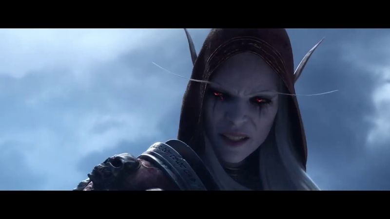 Сильвана VS Болвар World of Warcraft Shadowlands Королева Банши против Короля Лича