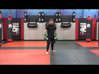 Kickboxing Classes for Adults - E9 Intermediate - Sensei Louis Gaudinot _ Tiger