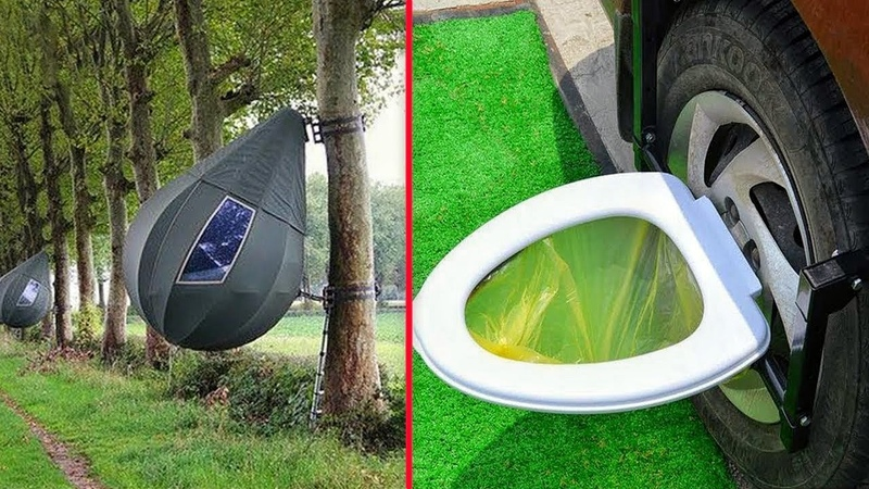 8 Most Unusual Camping Inventions That Are on ANOTHER Level