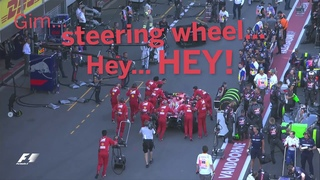 Raikkonen And His Steering Wheel | F1 Best Team Radio 2017