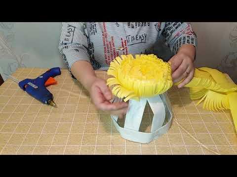 Мастер класс Одуванчик шляпка из изолона для фотосессий и детских утренников 2 часть