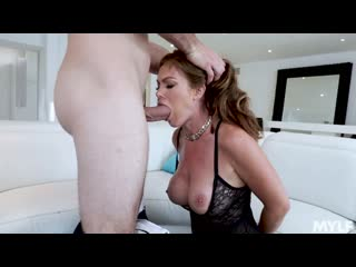 Ivy Secret - Lacy Black Lingerie Loving - Porno, MILF, Big Ttis, Big Ass, Blowjob, Brunette, Hardcore, All Sex, Porn, Порно