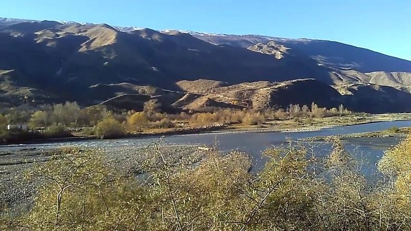 Андийское Койсу на границе Ахвахского и Ботлихского районов, ноябрь 2018| туризм в Дагестане