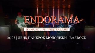 Выступление группы ENDORAMA (Уфа) в BARROCK «LIVE»