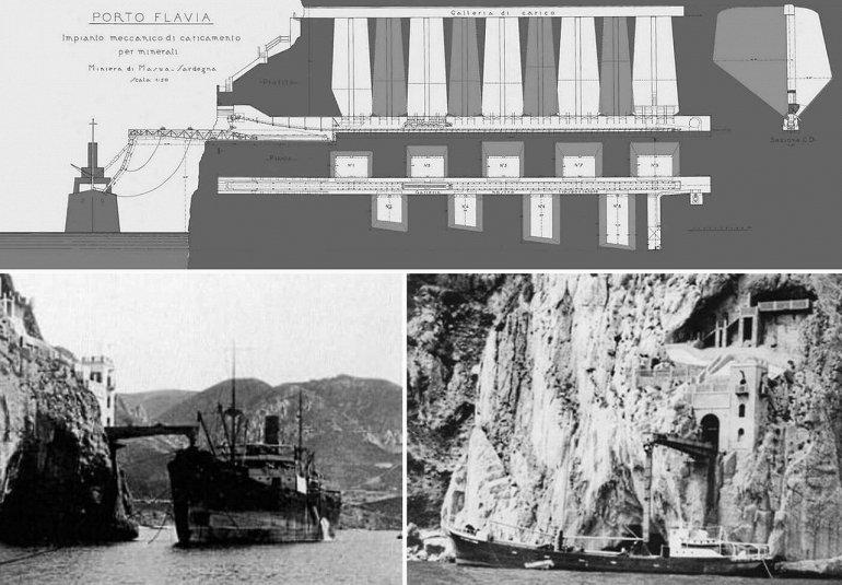 Порто Флавия - уникальная шахта на Сардинии, изображение №3