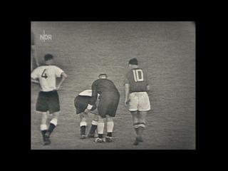 1956 West Germany - USSR. Full Match (part 2 of 2) / ФРГ - СССР. Полный матч (2 ч. из 2).