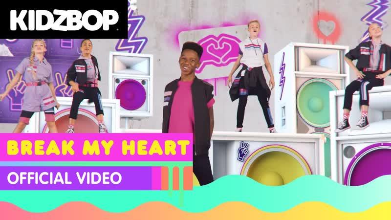 KIDZ BOP Kids UK Break My Heart Dua Lipa Cover Великобритания 2020