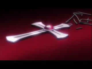 Крестик Вампир Rosario Vampire Клип AMV ED