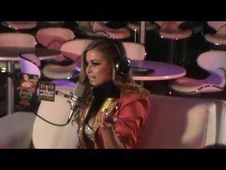 Sexy & Hot Carmen Electra celebrates Halloween 2010 Vegas Hustler Club and interview