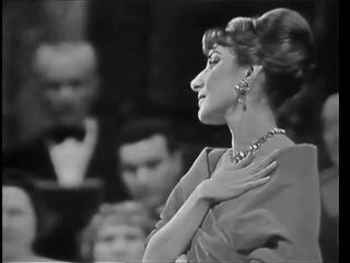Maria Callas Casta Diva Париж 1958