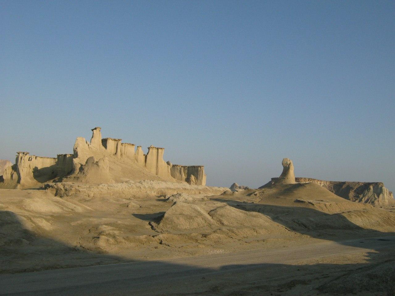 На острове Кешм в Персидском заливе