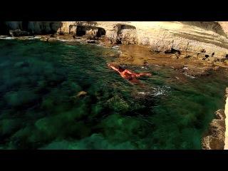 Прыжки в воду на Кипре Diving in Cyprus Cliffdiving