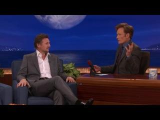 Liam Neeson Conan Are Pasty Irishmen