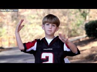 "8 year old raps pitbull ""hey baby"" ft. t-pain parody by mattybraps"
