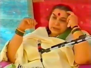 Лекция Шри Матаджи Солнце мозг медицинские вопросы 13.01.1986 г. Индия. Рахури.