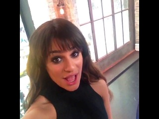 Lea michele is gonna be performing an playing games w/ us on #vh1buzz tomorrow at 10am/9c!