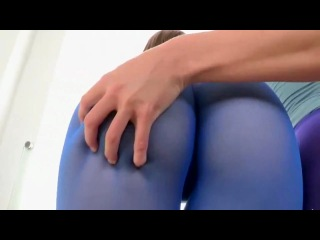 Shiny Lycra Love Helen sheer pantyhose