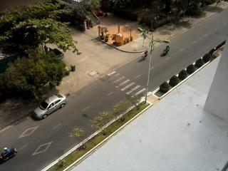 Вид с балкона отеля Маджестик  Ня Чанга во Вьетнаме.