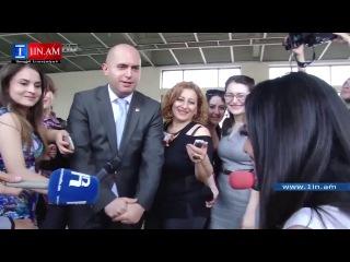 Министр образования и науки Армении Армен Ашотян посетил абитуриентов 6 июня 2014 года