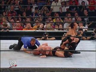 Summerslam 2002  Brock Lesnar vs The Rock - WWE Championship